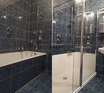 System Wanne Zur Dusche Badewanne Raus Dusche Rein